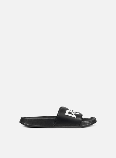 sneakers reebok classic slide black white