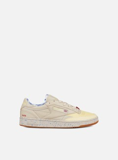 Reebok - Club C 85 AFH, Stucco/Lemon/Blue/Scarlet 1