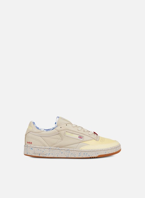 sneakers reebok club c 85 afh stucco lemon blue scarlet