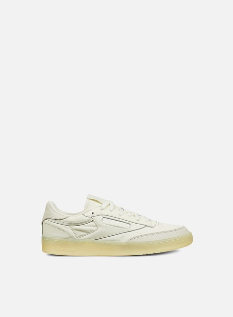 sneakers reebok club c 85 bs creme washed yellow