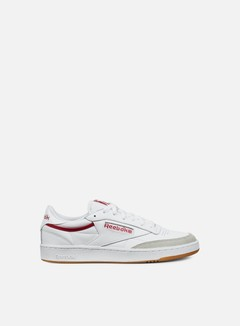 Reebok - Club C 85 CP, White/Grey/Red/Gum 1