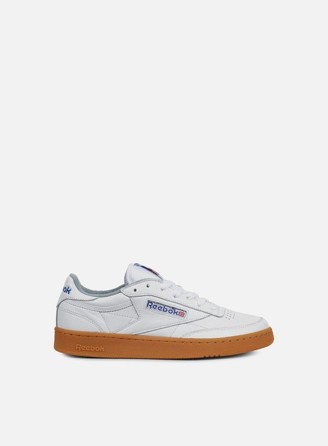sneakers reebok club c 85 gum white reebok royal flat grey