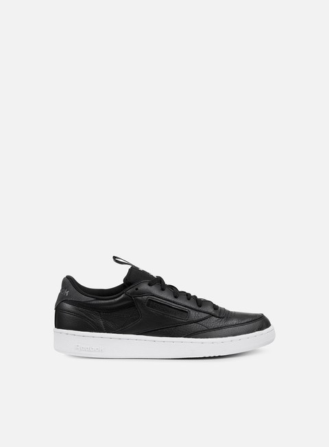 sneakers reebok club c 85 it black coal white