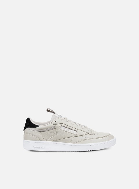 sneakers reebok club c 85 it sand stone black white