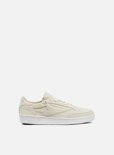 sneakers reebok club c 85 lst classic white paper white