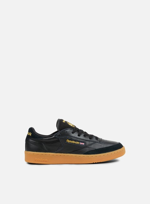 sneakers reebok club c 85 tdg black retro yellow