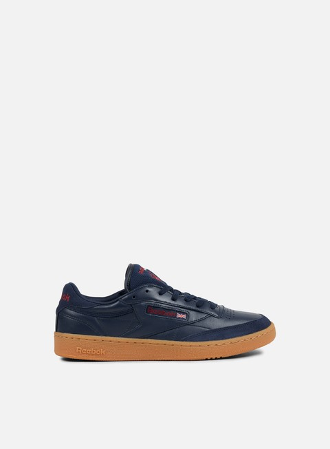 sneakers reebok club c 85 tdg collegiate navy wine