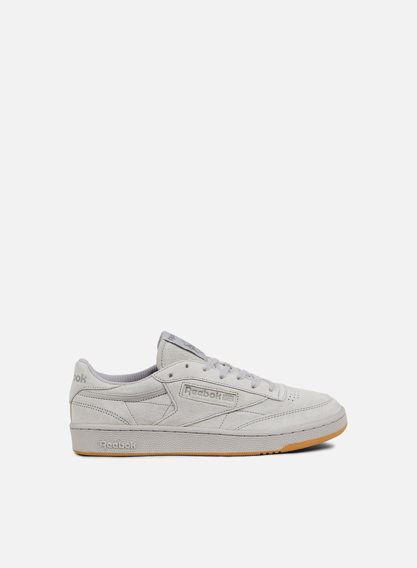 Reebok Club C 85 Tg Men Steel Carbon Gum Graffitishop