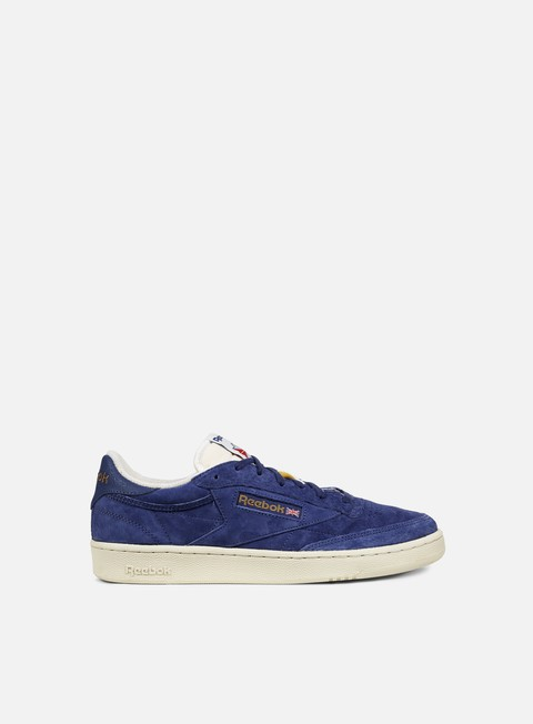 sneakers reebok club c 85 uj midnight blue chalk paper white