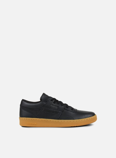 sneakers reebok club workout black chalk gum
