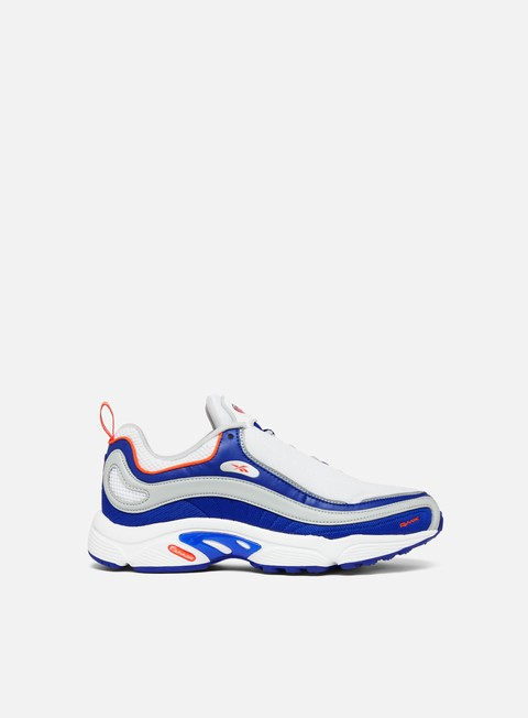 sneakers reebok daytona dmx white blue move grey lava