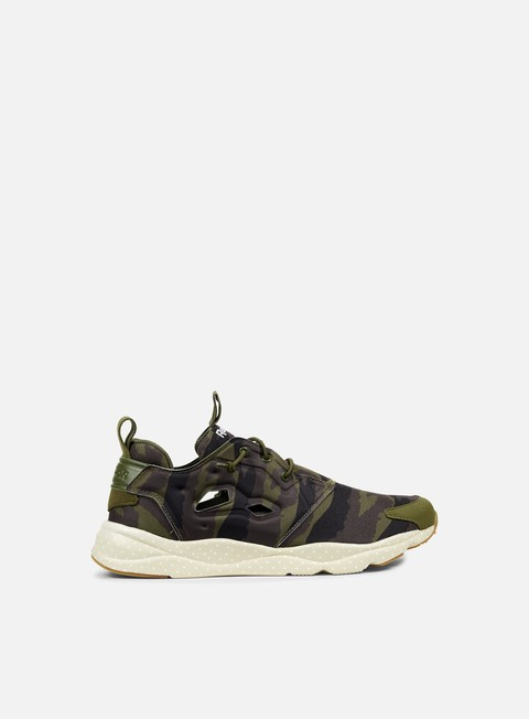 sneakers reebok furylite gm canopy green coal stone