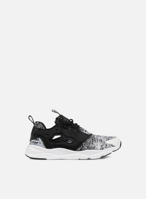 sneakers reebok furylite jf black white
