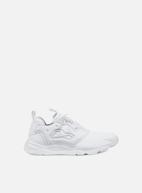 sneakers reebok furylite white white black