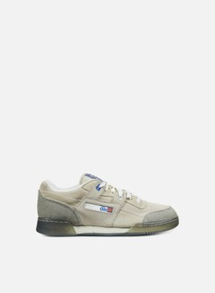 Reebok - Garbstore Workout Lo Plus, Off White/Cleat Grey