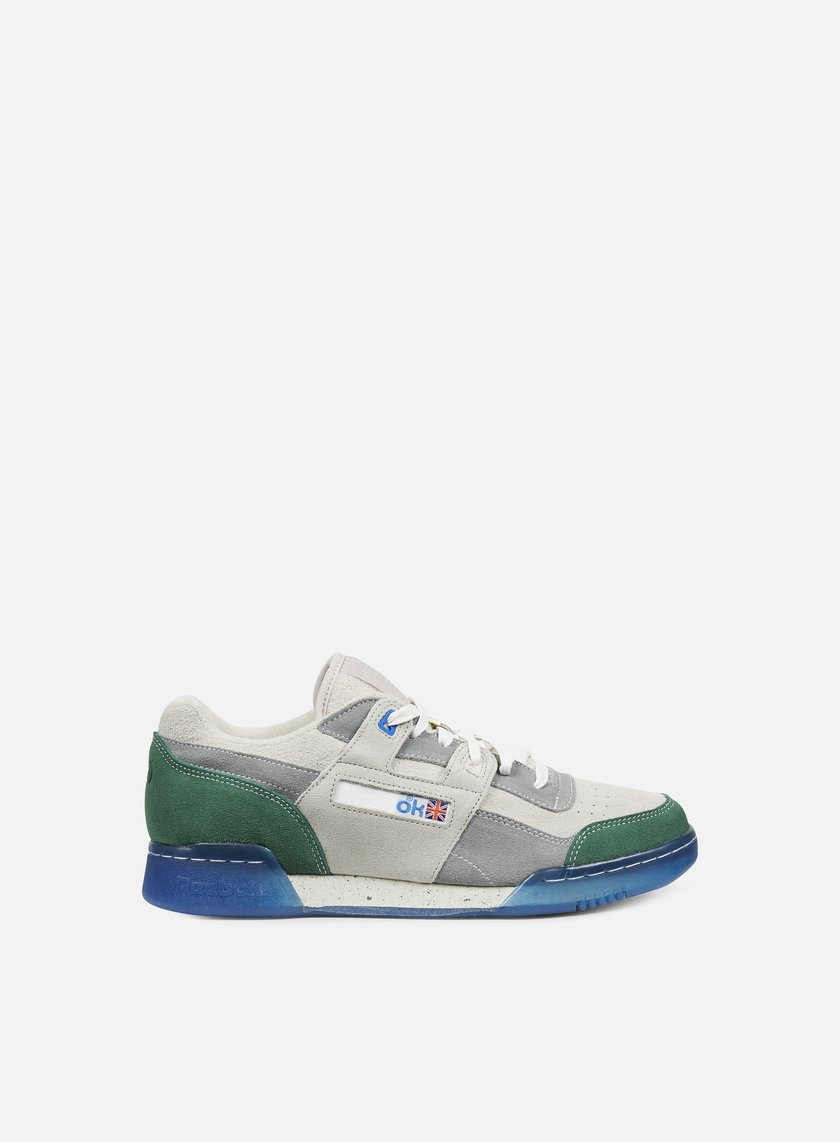 Reebok - Garbstore Workout Lo Plus, Warm/Cool Grey/Off White
