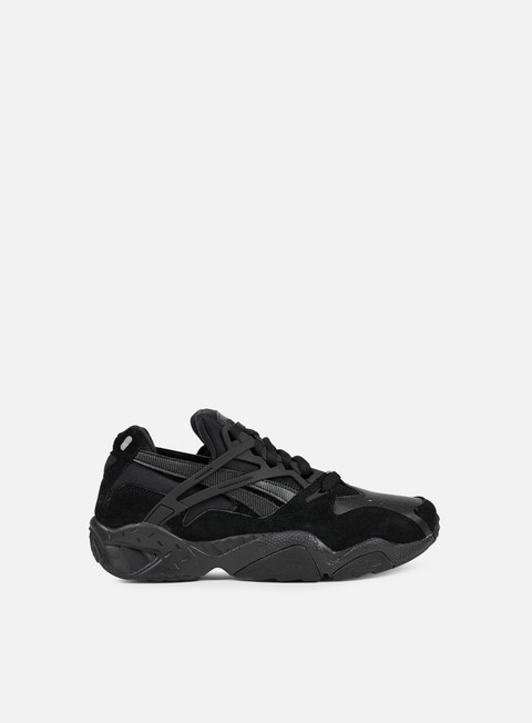 sneakers reebok graphlite pro solids black white