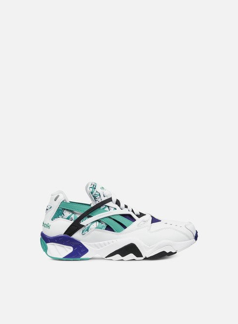 sneakers reebok graphlite pro white green night beacon