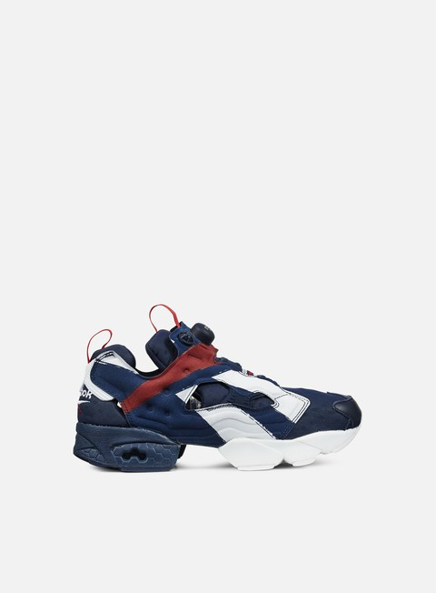 sneakers reebok instapump fury ob collegiate navy red white