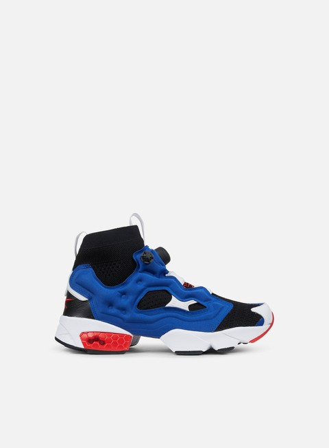 sneakers reebok instapump fury og ultraknit black team dark royal red