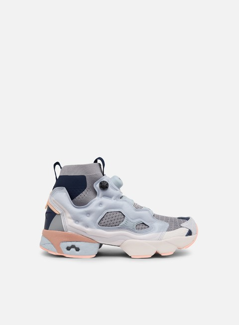sneakers reebok instapump fury og ultraknit dp power grey cloud grey collegiate navy