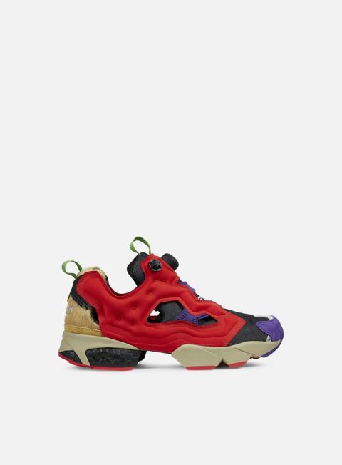 sneakers reebok instapump fury og villains smokey black scarlet violet