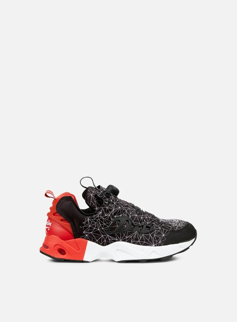 sneakers reebok instapump fury road cny black motor red white