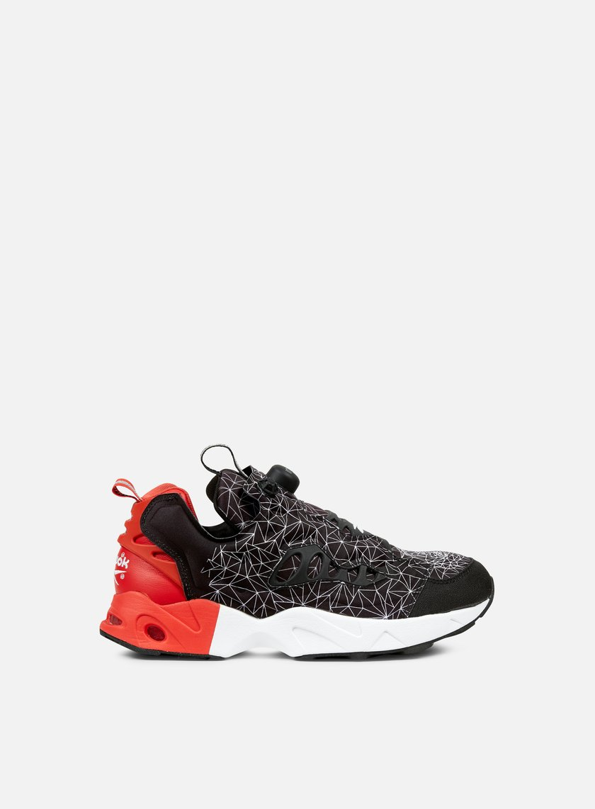 Reebok - Instapump Fury Road CNY, Black/Motor Red/White