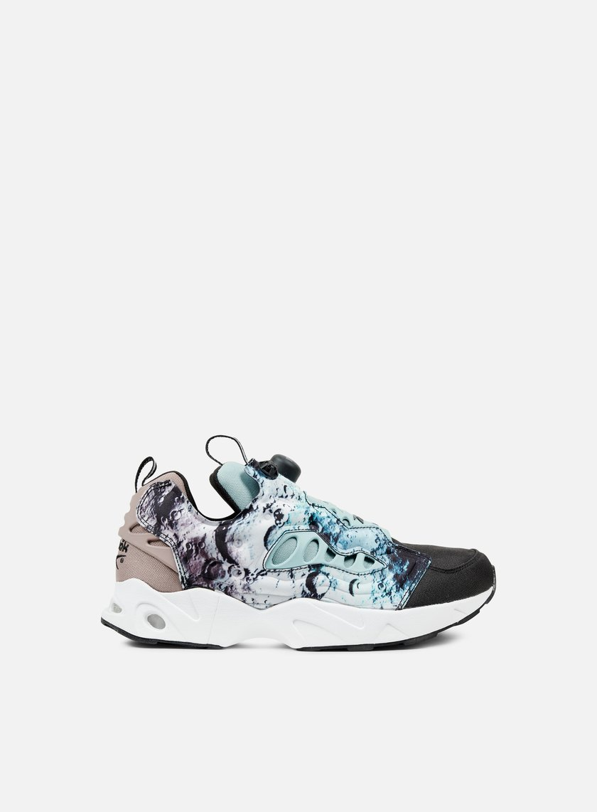 Reebok - Instapump Fury Road SG, Black/Winter Sage/Taupe