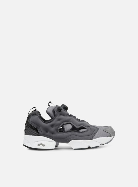sneakers reebok instapump fury tech black dark grey heather solid foggy grey