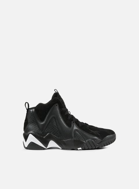 sneakers reebok kamikaze ii atl lax black white