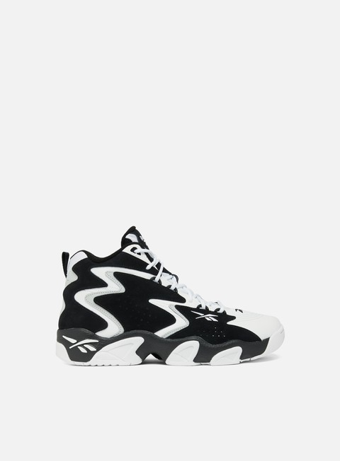 sneakers reebok mobius og mu black white snowy grey