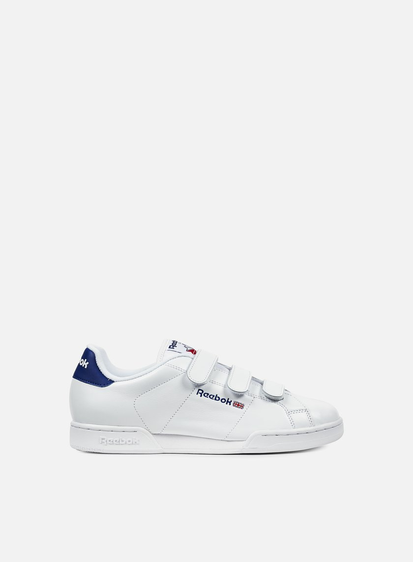 Reebok - NPC Straps, White/Royal/Red
