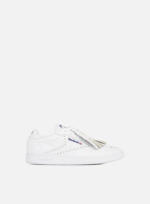 sneakers reebok npc uk beams white navy red orange