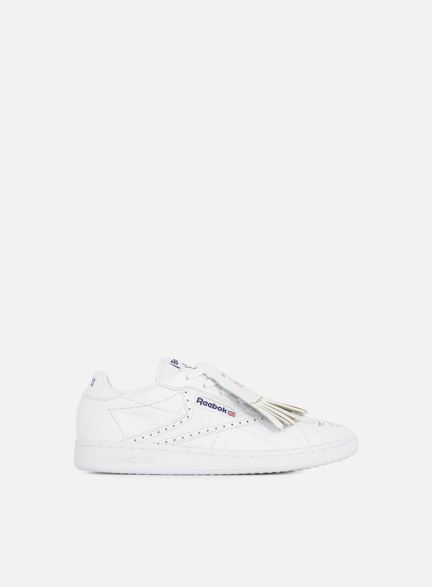 Reebok - NPC UK Beams, White/Navy/Red/Orange