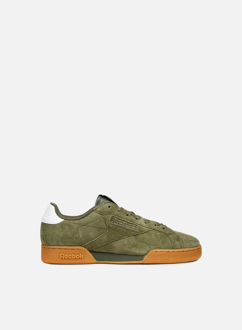 sneakers reebok npc uk ii el hunter green white gum