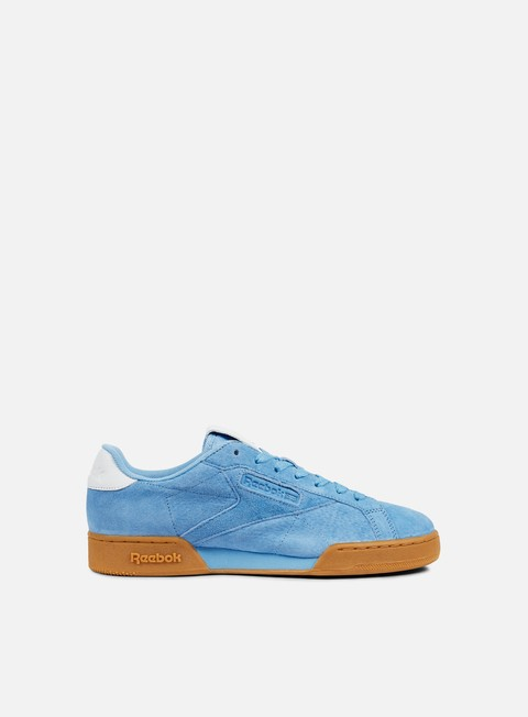 sneakers reebok npc uk ii el sky blue white gum