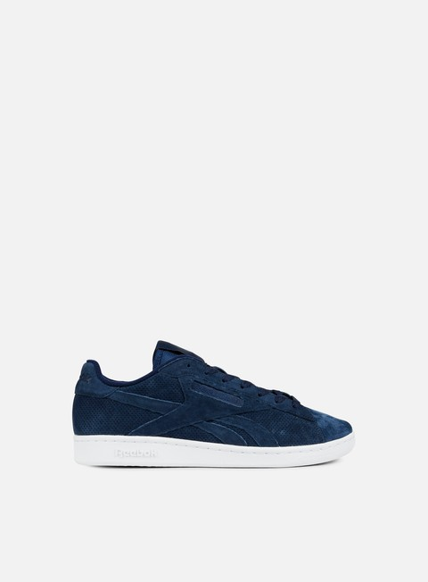 sneakers reebok npc uk perf collegiate navy hunter green white