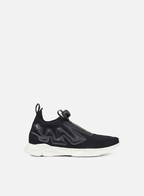 sneakers reebok pump supreme style black classic white