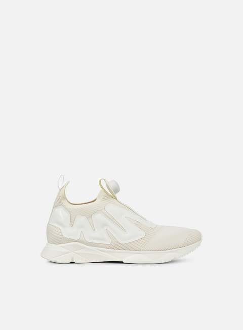 sneakers reebok pump supreme style classic white snowy grey