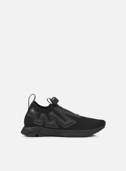 sneakers reebok pump supreme ultraknit black black
