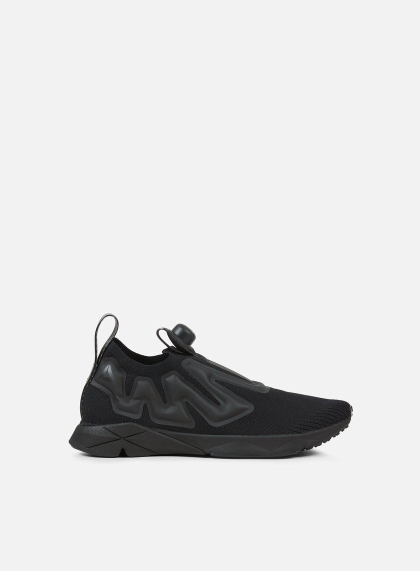 reebok pump supreme ultraknit black black 59 70. Black Bedroom Furniture Sets. Home Design Ideas