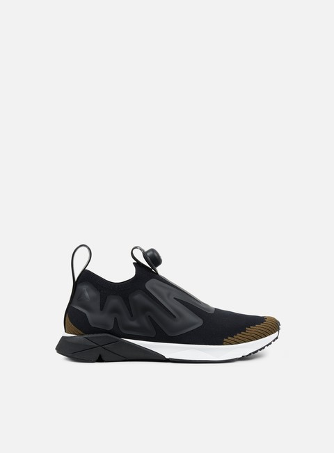 sneakers reebok pump supreme ultraknit black moss white