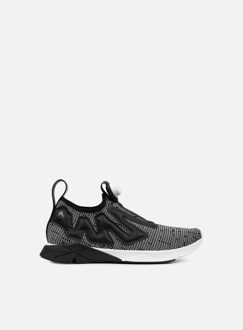 sneakers reebok pump supreme ultraknit white black