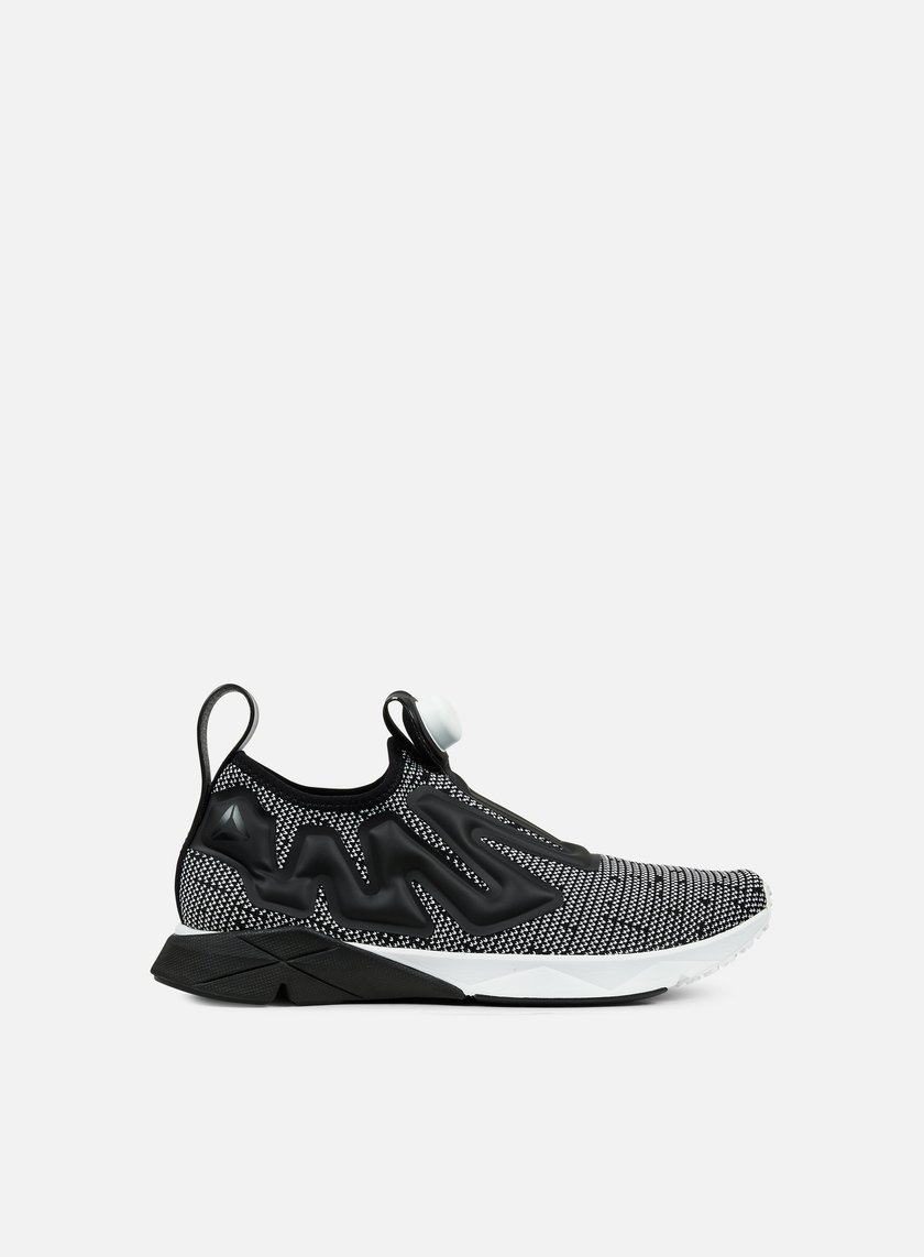 Reebok - Pump Supreme Ultraknit, White/Black