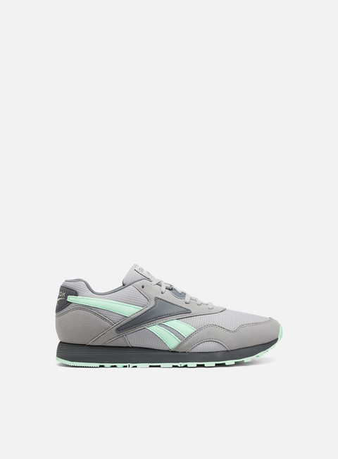 sneakers reebok rapide mu tin grey alloy digital green