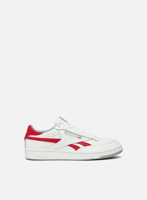 sneakers reebok revenge plus mu white primal red tin grey