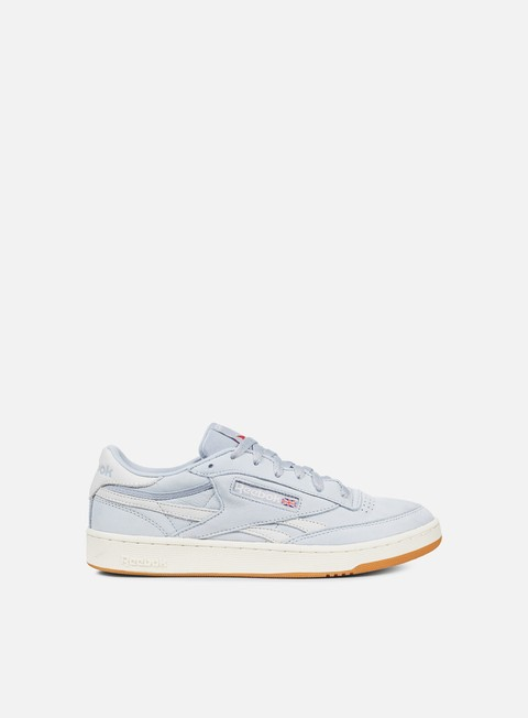 sneakers reebok revenge plus tl cloud grey chalk excellent red