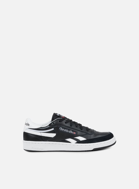 sneakers reebok revenge plus trc black white excellent red