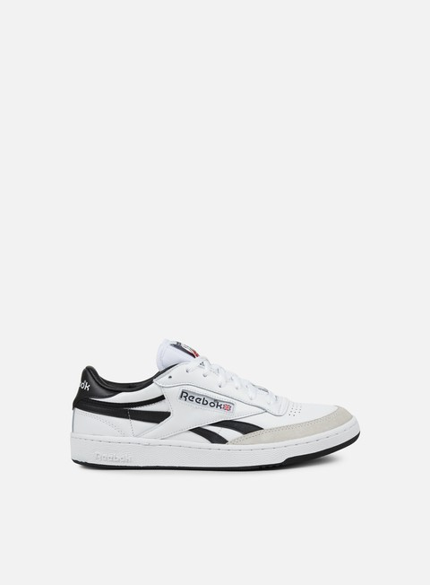 sneakers reebok revenge plus trc white black excellent red